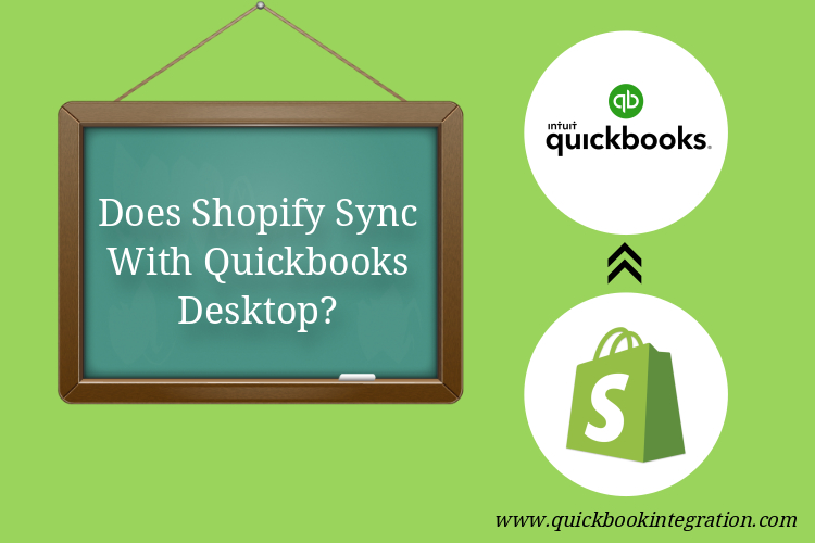 Does Shopify sync with QuickBooks desktop?